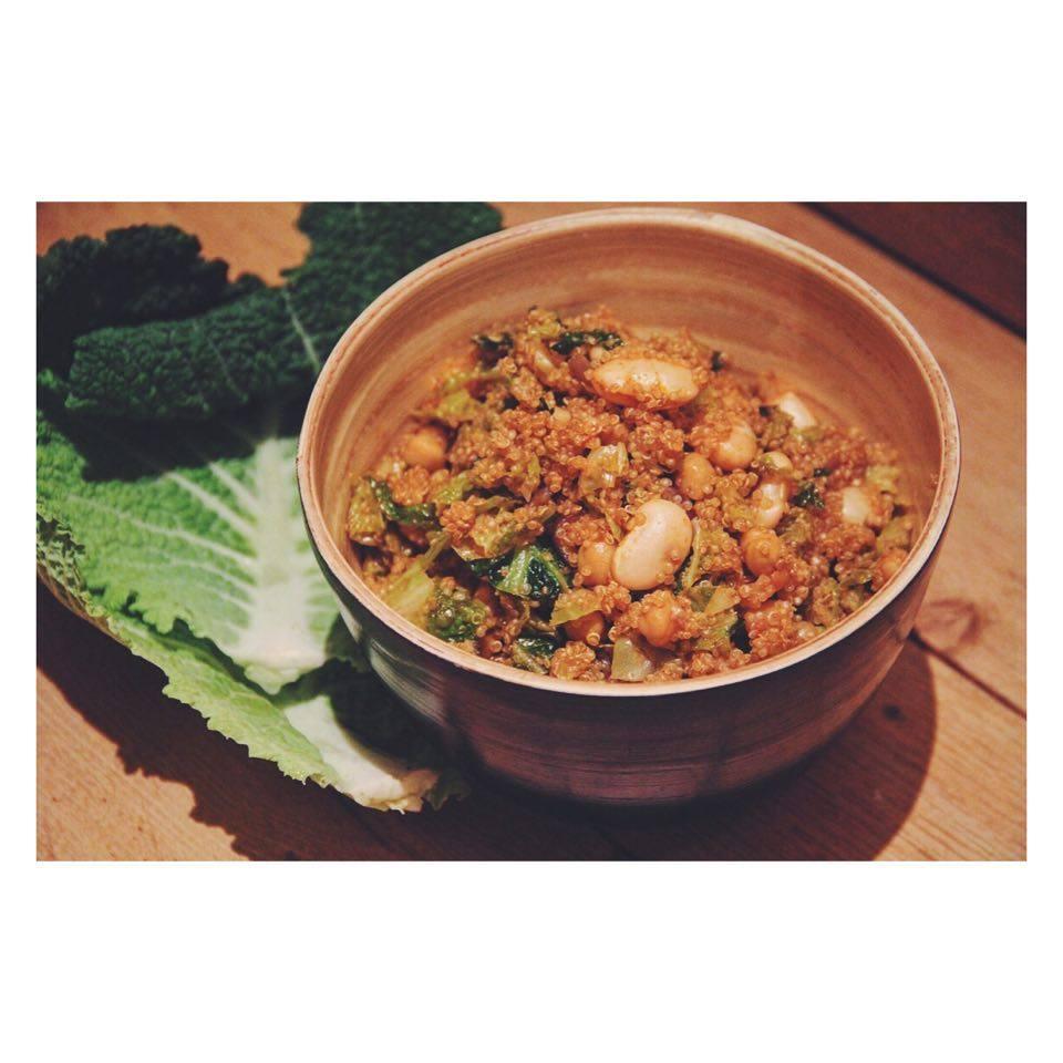 quinoa groene kool